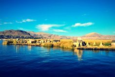 Not All Who Float Are Lost.  (Floating islands where communities live on Lake Titicaca. Been there on 2010)