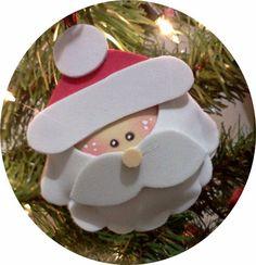 adornos para el rbol de navidad goma eva foami