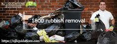 Responsible junk removal companies will every effort to recycle, use again or give items previous to even sending them to transfer stations or removal facilities. If you necessitate availing full benefit of your local 1800 rubbish removal service, now hire our experts from njliquidations.com;