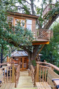 Triple Decker Record Setter Treehouse