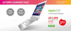 While specs might be quite similar between the netbooks as well as laptop notebooks, the difference is between their mobility, their performance, as well as their price. While there are a lot of great items on the market Acer remains one of the top names. http://www.acerstore.com.au/acer/store/