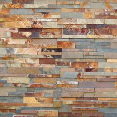 Sunset Dressed Natural Stone Veneer Panels