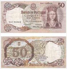 50 escudos II, 1965