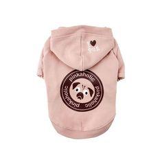 犬の服 秋冬 新作 PINKAHOLIC ピンカホリック MY PUG ピンク パーカー 洋服 ドッグウェア