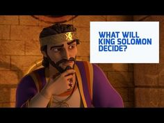What Will King Solomon Decide? Bible Songs, King Solomon, Christian Kids, Watch Full Episodes, Activities For Kids, Captain Hat, Twins, Give It To Me, Romance