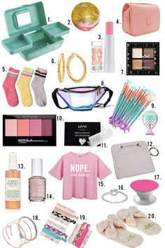 Best birthday gifts for girls teens teenagers stocking stuffers 51 ideas Christmas Gifts For Teen Girls, Cool Gifts For Teens, Tween Girl Gifts, Birthday Gifts For Teens, Gifts For Tweens, Gifts For Teenage Girls, Teenager Birthday Gifts, Teenage Girl Birthday, Small Gifts For Friends