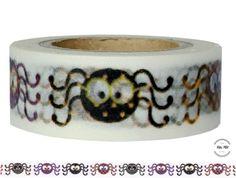 Masking Tape - Washi Tape SPINNEN - ein Designerstück von Fitzi-Floet bei DaWanda