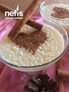 Natural Milk Rice Pudding (Great Flavor Without Starch) – Delicious Recipes - Essen und Trinkenn Healthy Breakfast Recipes, Healthy Recipes, Delicious Recipes, Turkish Sweets, Indian Desserts, Arabic Food, Iftar, Turkish Recipes, Chocolate Pudding