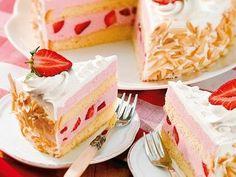 Fruchtig-schaumige Torte
