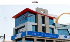 Exterior Application of ACPs  Our product stands out as the best enabler in working out unique or one-of-its-kind facades, wall panels, #canopies and signage.