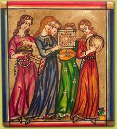 Miniatures of Cantigas de Santa Maria - King Alfonso X el Sabio of Spain - 13th c.