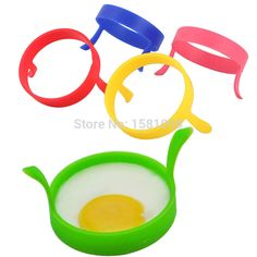 3Pcs Kitchen Cooking Tools Silicone Fried Fry Frier Oven Poacher Pancake Egg Poach Ring Mould #23296
