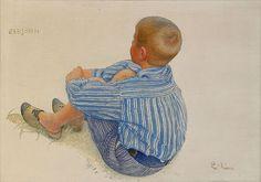 By Carl Larson 1910   Esbjörn