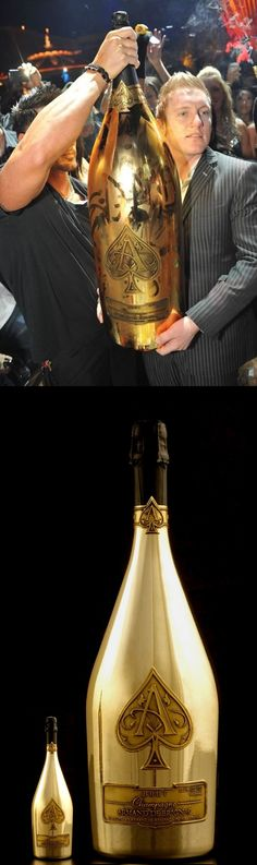 Champagne Armand de Brignac, 30 litre Expensive Champagne, Champagne Brands, Armand De Brignac, Color Themes, Colors, Ace Of Spades, Life Is Good, In This Moment, Drinks