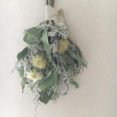 Dried Flowers, Christmas Wreaths, Swag, Bouquet, Floral Designs, Instagram, Flowers, Flower Preservation, Holiday Burlap Wreath