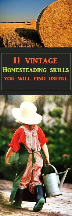 Essential Vintage Skills For Your Home #vintage #frugal #frugalliving