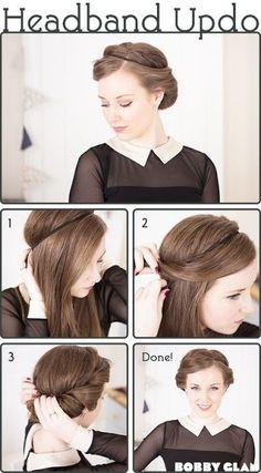 Headband-Updo-Tutorial