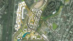 SOM : Panama Government City Master Plan