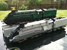 Steam Train/Trains. A4 Pacific anyone??: A LEGO® creation by alan rodger : MOCpages.com