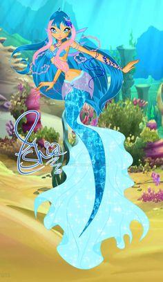 Ashia Aquaria Mermaid by AshianaAquaris on DeviantArt Mermaid Images, Mermaid Art, Mermaid Barbie, Doll Drawing, Watercolor Girl, Fairy Pictures, Mermaid Coloring, Merfolk, Mythological Creatures