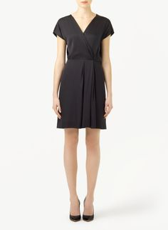 T. BABATON EASTON DRESS - Full-skirted and feminine in luxurious stretch silk