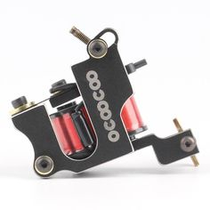 OCOOCOO T200A Professional Secant Tattoo Machine 8000 RMinute Black Perfect Carving - Gchoic.com