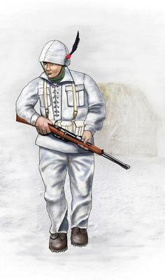 Alpino Battaglione Monte Cervino WW2 - 1942 USSR by AndreaSilva60 on DeviantArt