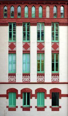 Fàbrica d'Embotits Torra  1896  Architect: Enric Sagnier i Villavecchia
