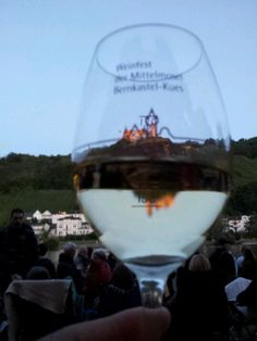 Bernkastel - Kues Weinfest.  I have this glass in my kitchen right now.