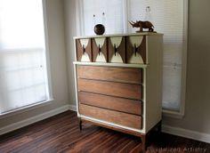 MidCentury Dresser Tall  Custom Order for by RevitalizedArtistry, $975.00