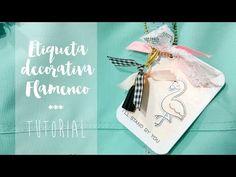 Pintar Aquarella Ornament Etiqueta Tag | AluaCid