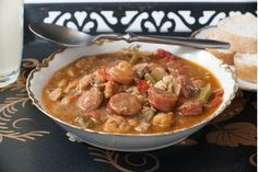 Seafood Recipes 50602 How to Make New Orleans Style Seafood Gumbo Seafood Casserole Recipes, Shrimp And Rice Recipes, Chowder Recipes, Cajun Recipes, Seafood Recipes, Gumbo Recipes, Cajun Food, Creole Recipes, Cajun Cooking