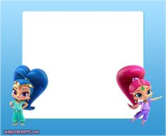 Nick Jr, Shimmer N Shine, Smurfs, Disney Characters, Fictional Characters, Disney Princess, Grid, Frames, Animales