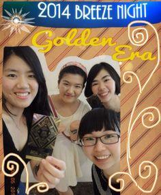 w/ @Arena451Arashi  n our sis celebrated Breeze Night last Friday. Like four of us!!!