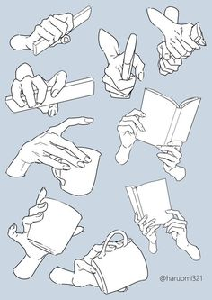 Hand pose reference for artists Hand Drawing Reference, Drawing Reference Poses, Drawing Hands, Drawing Tips, Drawing Tutorials, Body Drawing Tutorial, Basic Drawing, Drawing Lessons, Painting Tutorials