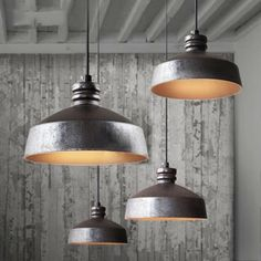 old and rustic pendant light design