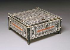 Box from the tomb of Sennedjem [Egyptian; From the tomb of Sennedjem, Deir el-Medina, western Thebes] (86.1.8)   Heilbrunn Timeline of Art History   The Metropolitan Museum of Art