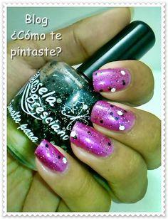 Colección Chess por Ángela Bresciano ( Sorteo!!!!) #swatches #nails #uñas #comotepintaste #esmaltes #polish #black #negro #angelabresciano