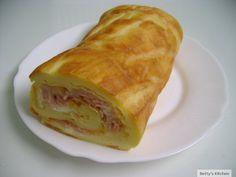 rulada cu sunca si cascaval ca bunica & Carmen Bun Bun, Ethnic Recipes, Food, Essen, Meals, Yemek, Eten