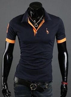 Cheap polo golf t shirts, Buy Quality shirt different color collar directly from China polo shirt size Suppliers: MENPOLO SHIRT! casual slim fit short-sleeved men polo shirt size M-XXXL T Shirt Polo, Mens Polo T Shirts, Slim Fit Polo Shirts, Tee Shirt Homme, Casual T Shirts, Men's Polo, Shirt Men, Fashion Casual, Men Casual