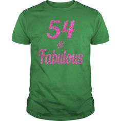 54 and Fabulous T-Shirt #gift #ideas #Popular #Everything #Videos #Shop #Animals #pets #Architecture #Art #Cars #motorcycles #Celebrities #DIY #crafts #Design #Education #Entertainment #Food #drink #Gardening #Geek #Hair #beauty #Health #fitness #History #Holidays #events #Home decor #Humor #Illustrations #posters #Kids #parenting #Men #Outdoors #Photography #Products #Quotes #Science #nature #Sports #Tattoos #Technology #Travel #Weddings #Women