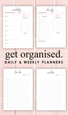 Hottest Pics daily planner vorlage Summer Me : It's back-to-school time frame for most family members and also finances are usually packed with brightly-colored notepads, schedules, and also planne. To Do Planner, Budget Planner, Life Planner, Blog Planner, Weekly Planner Printable, Monthly Planner, Discbound Planner, List Template, Planner Template