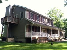 Milford-Just Reduced! Outstanding custom build colonial home in ammenity filled Conashaugh Lakes. Quality throughout with numerous updgrades. Gourmet kitchen, family room, covered porch, rear deck, balcony, master suite with steam shower, office, propane fireplace, hardwood floors, and so much more. $319,000 #home #forsale #realestate #milford #pikecounty Dave Chant & Nicole Patrisso Davis R. Chant Realtors www.chantre.com 570.296.7717
