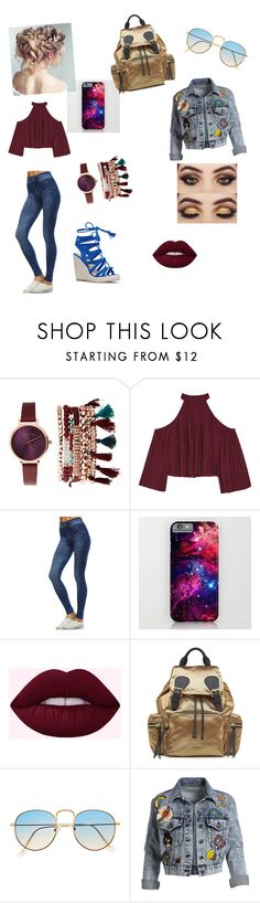 """""""casual day as me"""" by babygirl112102 ❤ liked on Polyvore featuring Jessica Carlyle, W118 by Walter Baker, Mono B, Burberry and Alice + Olivia"""