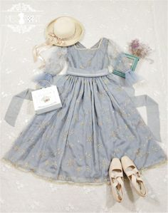 The Stars~ Vintage Embrodery Lolita OP
