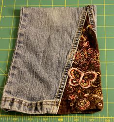 upcycle jean purse