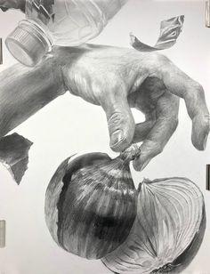 Ap Drawing, Still Life Drawing, Drawing Skills, Drawing Sketches, Pencil Drawings Of Nature, Realistic Drawings, Basic Sketching, Ap Studio Art, A Level Art