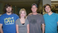 Abby and I with the band The Icarus Account.