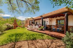 Santa+Fe+Style+Floor+Plans | and Sharyn Bey Turchin, purchased this Pueblo-style home in Santa Fe ...