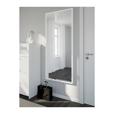 "STAVE Mirror - white, 27 1/2x63 "" - IKEA"